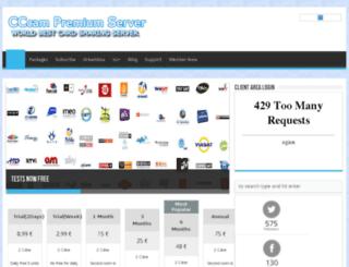 cccampremiumserver.com screenshot