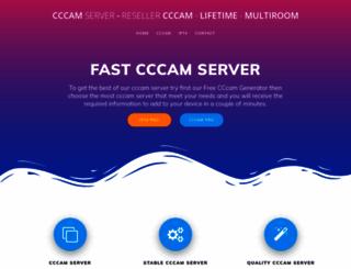 cccamserver.org screenshot