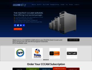 cccamsky.com screenshot