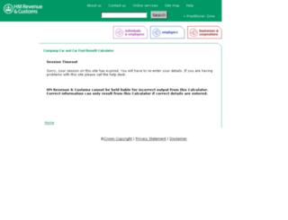 cccfcalculator.hmrc.gov.uk screenshot