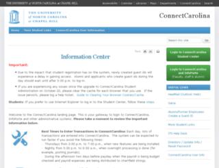 cccs.unc.edu screenshot