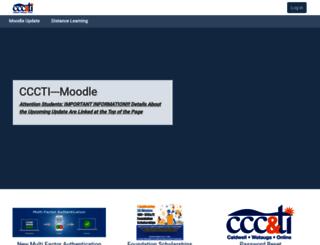 cccti.mrooms.net screenshot