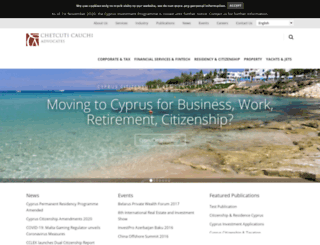 cccyprus.com screenshot