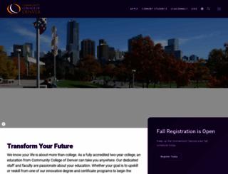 ccd.edu screenshot