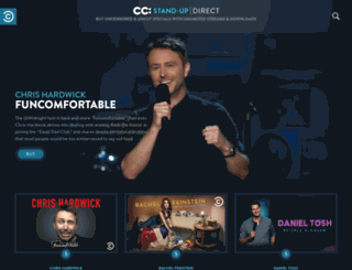 ccdirect.comedycentral.com screenshot