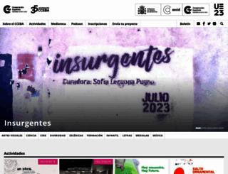 cceba.org.ar screenshot