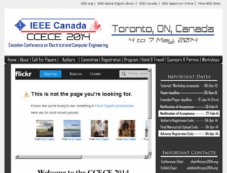 ccece2014.org screenshot