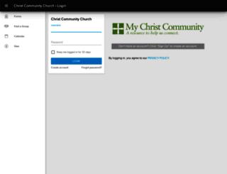 ccefc.ccbchurch.com screenshot