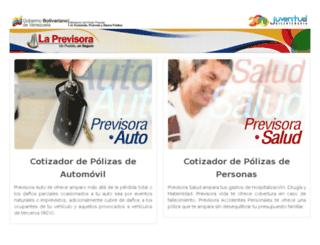 ccero.previsora.net screenshot
