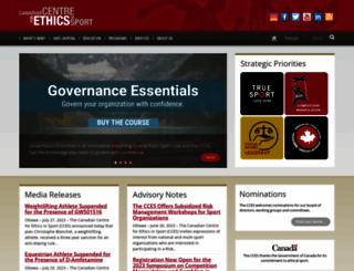 cces.ca screenshot