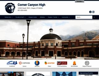 cchs.canyonsdistrict.org screenshot