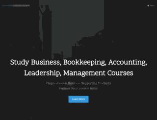 cci.edu.au screenshot