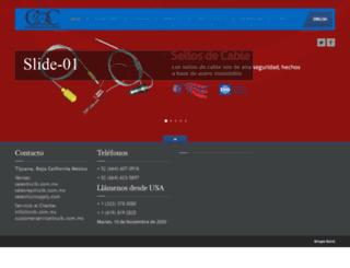 ccib.com.mx screenshot