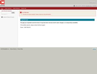 cciconferencing.ilinc.com screenshot