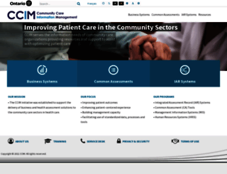 ccim.on.ca screenshot