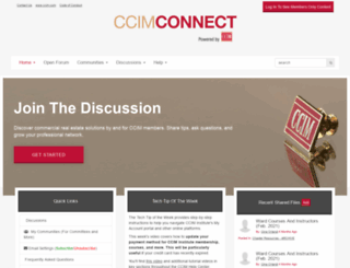 ccimconnect.com screenshot