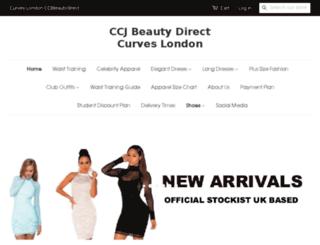 ccjbeautydirect.com screenshot