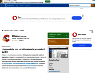 ccleaner.softonic.it screenshot
