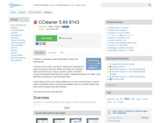 ccleaner.updatestar.com screenshot
