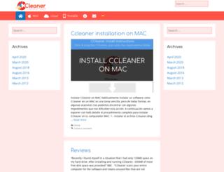 ccleanerfreedownload.org screenshot