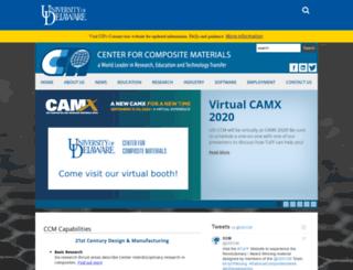 ccm.udel.edu screenshot