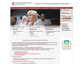 ccme.osu.edu screenshot