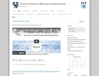 ccmi.fit.cvut.cz screenshot