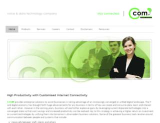 ccom.za.net screenshot