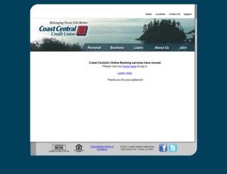 cconline.coastccu.org screenshot