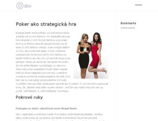 ccpoker.sk screenshot