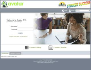 ccps.avatarlms.com screenshot