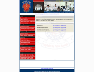 ccptraffickyc.pk screenshot