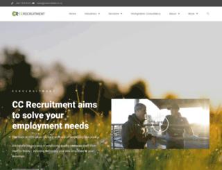 ccrecruitment.co.nz screenshot