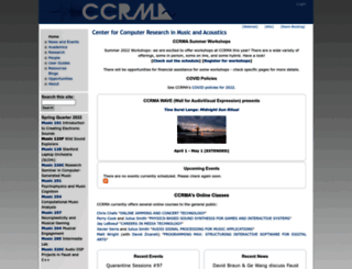 ccrma.stanford.edu screenshot