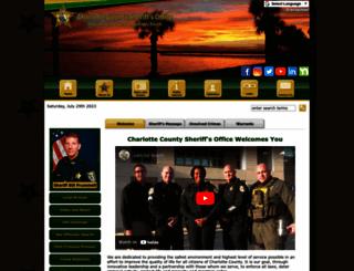 ccso.org screenshot