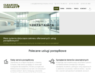 ccsprzatanie.pl screenshot