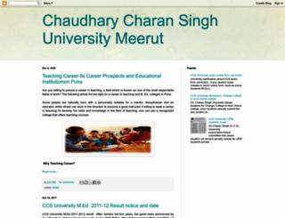ccsuniversity.blogspot.com screenshot