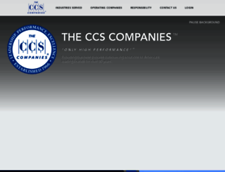 ccsusa.com screenshot