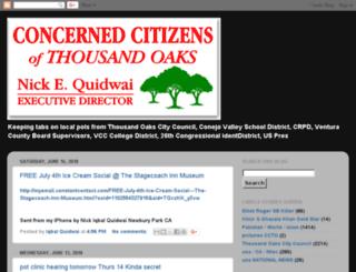 cctoaks.com screenshot