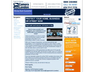 cctv-installers-london.co.uk screenshot