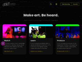 cctvcambridge.org screenshot