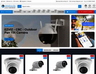 cctvshop.in screenshot