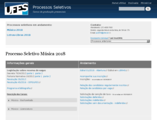 ccv.ufes.br screenshot
