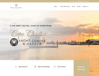 ccyachtcenter.com screenshot