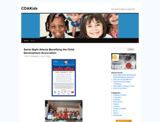 cdakids.wordpress.com screenshot