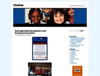 cdakids.wordpress.com screenshot