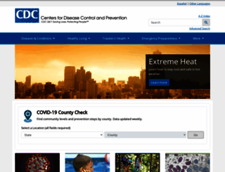 cdc.gov screenshot