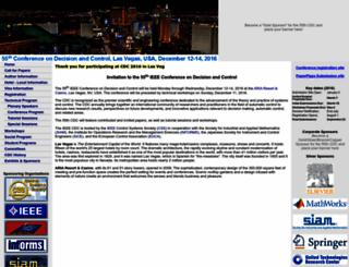 cdc2016.ieeecss.org screenshot