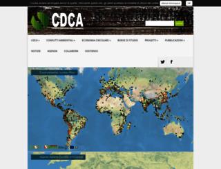 cdca.it screenshot