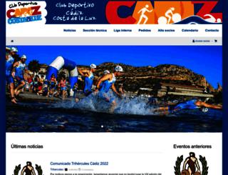 cdcadizcostadelaluz.com screenshot